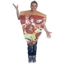 PIZZA COSTUME, UNISEX, FOOD FANCY DRESS COSTUME, ONE SIZE