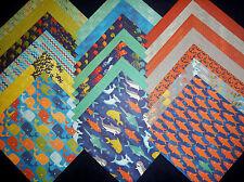 12x12 Scrapbook Paper Saltwater Aquarium Fish Sharks Sea Life Ocean Water 40 Lot