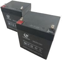 SET OF 2 12V 4.5AH SLA FOR RAZOR E100 E125 E150 ELECTRIC SCOOTER UPS BATTERIES