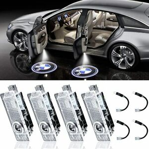 4pcs For BMW LED Welcome Light Door Courtesy Ghost Shadow Laser Projector