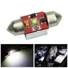 1pc 31mm 7W LED Bright Car Interior Light Dome Map Door Bulb DE3175 DE3022