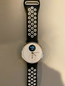 Withings (NOKIA ON FACE) STEEL HR WITH SILCONE, LEATHER AND STEEL BANDS