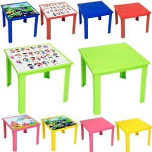 Strong Childres Table Kids Plastic Folding Table High Quality Suitable for Outdo