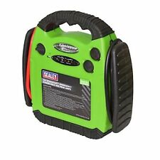 Sealey Road Start Emergency Power Pack 12v 900A Jump Booster With Light Hi-Vis