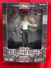 "MINT ""GENUINE"" Death Note LIGHT YAGAMI PVC Figure VIZ MEDIA H5"" 12.5cm UK DSP"