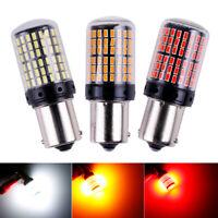 Bombillas P21W LED, nueva generacion Canbus, BA15S (1156), 144smd, Chip 3014