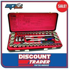 "SP Tools Socket Set 1/2"" Drive 12 Point 41 Piece Metric / SAE - SP20300"