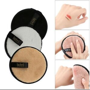 Reusable Makeup Remover Pads, Round Makeup Remover Pads for Heavy Makeup & Masks