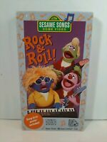 Sesame Songs Rock & Roll (1990) VHS Sesame Street Children Sing Along NO Poster