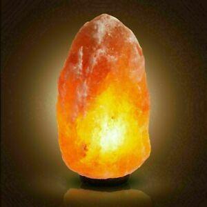 HIMALAYAN SALT LAMP CRYSTAL PINK ROCK NATURAL HEALING PURE SALT LAMPS 2-10kg