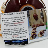 Brian Mitchell Autographed Washington Redskins Mini Helmet (JSA COA)