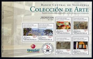 Venezuela 2010 Kleinbogen Bank Gemälde Paintings Kunst Postfrisch MNH