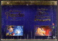 PINOCCHIO / LA BELLE AU BOIS DORMANT - Coffret 4 Blu-Ray / 3 DVD - Neuf blister