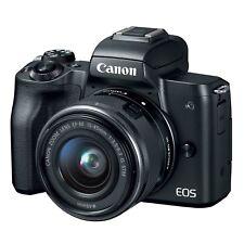 Canon EOS M50 Kit w/EF-M 15-45mm (Black) & FREE 64GB SDXC *NEW*