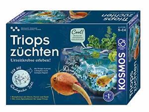 KOSMOS 633097 Triops züchten Urzeitkrebse erleben Einsteiger Komplett-Set