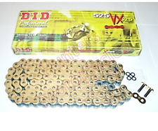 BMW S1000RR DID Gold X-Ring Chain 525 x 120 (2012 to 2018)