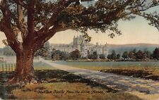 More details for hoddom castle from the drive annan dumfries and galloway scotland postcard