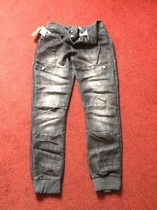 mens cuffed jeans 34 By No Fear New