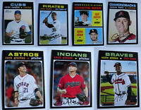 2020 Topps Heritage French Yellow Back Complete Your Set Baseball Cards U Pick