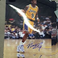 Nick Van Exel autograph signed 8 x 10 photo LAKERS NBA Gameday Hologram