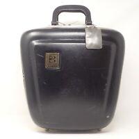 Vintage BRUNSWICK Hard Shell Carrying Case 1950's 1960S Bowling Ball & Shoe Bag