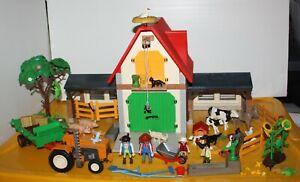 Playmobil réf 4490 - Ferme + tracteur + animaux
