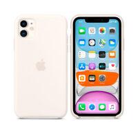 Funda iPhone 11 PRO MAX Apple Silicone Case MRW82FE/A silicona Blanco suave
