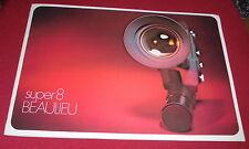 Dachbodenfund prospectus livret super 8 Beaulieu filmcamera caméra film alt publicitaires
