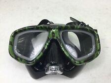 Palantic Silicone Camouflage Dive Mask, Used