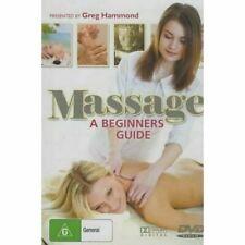 Massage a Beginners Guide Covers Swedish Shiatsu & Reflexology as PAL DVD