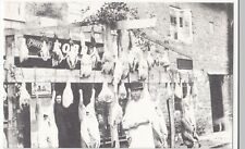 Dorset; Butcher At Abbotsbury Repro PPC Unposted, c 1980's