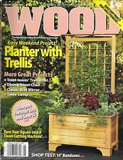 Wood magazine Planter with trellis weekend project Dining room chair Table lamp