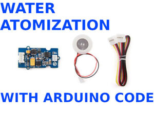 Water Atomization v1.0 Arduino Humidifier Smart House + Software Code