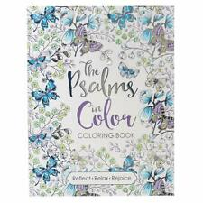 The Psalms in Color Inspirational Coloring Book Paperback Adult Child Gift