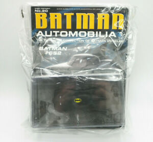BATMAN AUTOMOBILIA #652 BATMOBILE BY EAGLEMOSS NEW IN PACKAGE FREE SHIPPING