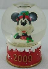 JcPenney Mickey Mouse 2009 Miniature Snow Globe