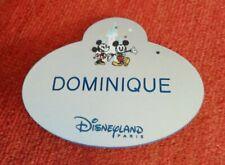 Name tag disney Mickey et Minnie cast member disneyland paris nametag