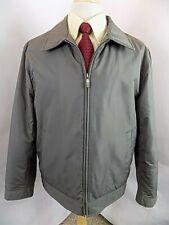 Joseph Abboud Men's Full Zip Jacket Sz L Large Car Coat L/S Fall Spring 3 Pkt
