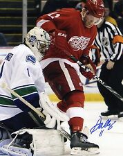 DAN CLEARY Detroit Red Wings SIGNED 8x10 Photo COA
