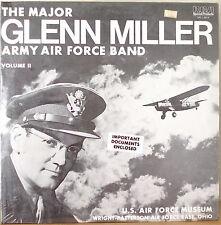 THE MAJOR GLENN MILLER ARMY AIR FORCE BAND VOLUME II-SEALED1978LP