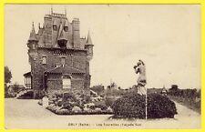 """cpa 94 - ORLY (Val de Marne) VILLA """"Les Tourelles"""" Maison Château demeure jardin"""