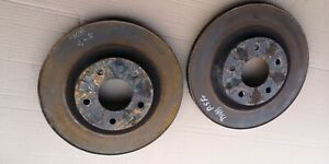 NISSAN X TRAIL T31 2008 2.0 DCI MANUAL FRONT VENTED BRAKE DISCS LEFT AND RIGHT