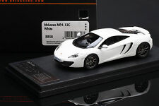 McLaren MP4-12C **White**  -- HPI #8858  RESIN 1/43
