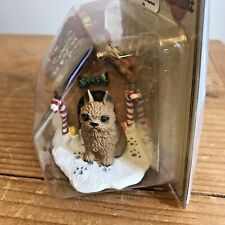 Brussels Griffon Christmas Ornament Gingerbread Red Dog Ornament New