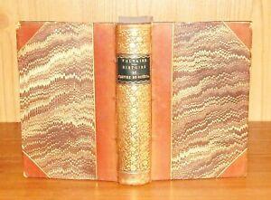 1829 Voltaire HISTOIRE DE L'EMPIRE DE RUSSIE SOUS PIERRE-LE-GRAND Lovely Binding