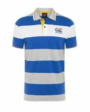 Canterbury Men's Uglies Stripe Polo - Victoria Blue - Sizes Small to 4XL
