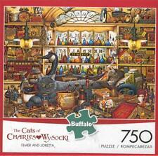 Elmer and Loretta The Cats of Charles Wysocki 750 Pc Jigsaw Puzzle NIB