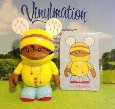 "Disney Vinylmation 3"" Park Set 2 Cutesters Too Yellow Raincoat w/ Card"