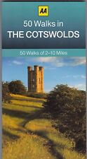 50 Walks in The Cotswolds by AA Publishing (Paperback) New Book