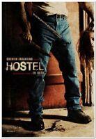 HOSTEL -2006- orig 27x40 ITALIAN Movie Poster - Q.TARANTNO - WARNING: GRUESOME